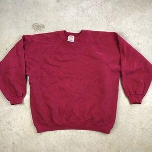 Vintage Hanes Blank Crewneck Sweatshirt